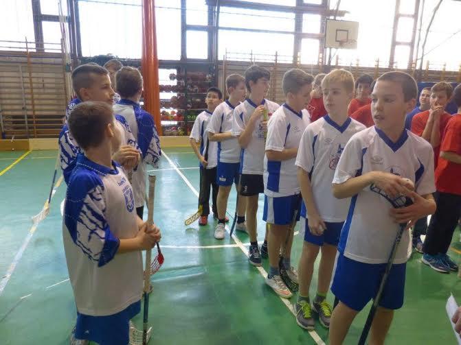 floorbal III.kcs csapat